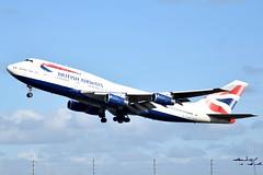 G-BYGC | B744 | EGLL | 24-02-2017 (t1mdean) Tags: boeing b744 747 jumbo britishairways speedbird gbygc lhr egll londonheathrow airliner 27l avgeek
