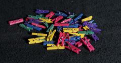 mini clothespins (MuTant 99) Tags: home stilllife miniature clothespins olympusomdm10mkii dxoopticspro11