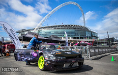 Fueltopia Barrel Sprint @ Wembley Stadium (Dan Fegent) Tags: green fueltopiabarrelsprint fbs fueltopia barrelsprint wembleystadium london uk england qualifier gymkhanagrid ft grassroots awesome fun wicked brilliant bikes motorbikes cars automotive canon1dx fullframe eos1 proseries behindthescenes vlog lukewoodham monsterenergy