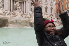 ADSC_7002 (Russell Bruce Photography) Tags: rome italy roma italia russellbrucephotography photography photographer professional holiday architecture roman europe eu nikon d800 d800e trevi fountain art marble wishing beautiful filipino portrait action