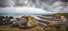 Firth of Forth (ianrwmccracken) Tags: rock fife landscape water riverforth seascape coast pano path bassrock berwicklaw