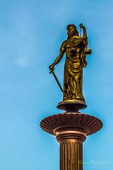 Tamis (@rontacuchi) Tags: balance balanza blind ciega diosa espada goddess huancayo sword temis junín perú
