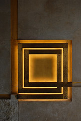 carlo scarpa, olivetti showroom, venice 1957-58. lamp