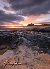 Ambiance (Calum Gladstone) Tags: bamburgh castle sunrise seascape rocks sky manfrotto leefilters canon6d