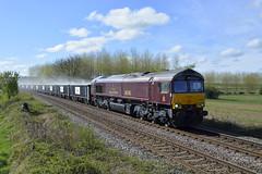 GBRf 66746 at North Anston (parkgateparker) Tags: northanston syjnt southyorkshirejoint gbrf 66746 belmondroyalscotsman gypsum