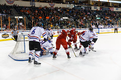 "Missouri Mavericks vs. Allen Americans, March 3, 2017, Silverstein Eye Centers Arena, Independence, Missouri.  Photo: John Howe / Howe Creative Photography • <a style=""font-size:0.8em;"" href=""http://www.flickr.com/photos/134016632@N02/33117918512/"" target=""_blank"">View on Flickr</a>"