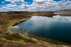Lago Umayo, Sillustani, Puno, Peru (Martintoy) Tags: puno nikon peru andean andes titicaca lagotiticaca chulpas chulpa