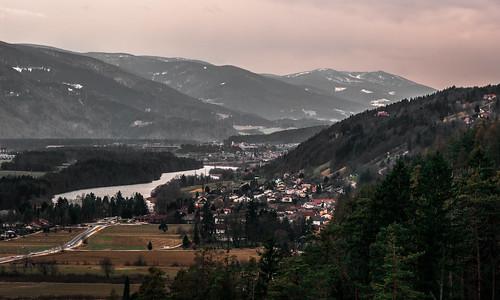 Dravska dolina iznad Kamnice