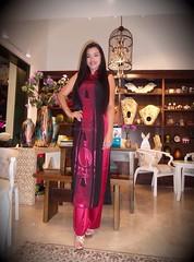 Vietnamese Traditional Costume for Women (***asianbarbie***) Tags: asianbarbie vietnamesetraditionalwearforwomen asian asians filipina beautifulpinay philippines vietnam philippinebeauty brunette longhair beautifulgirl beautifulcostume