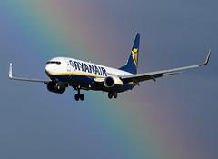EI-EKZ Boeing 737-8AS (Irish251) Tags: ryanair rainbow boeing 737 dub eidw dublin airport