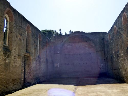 Rome - via appia antica, Chiesa di San Nicola a Capo di Bove
