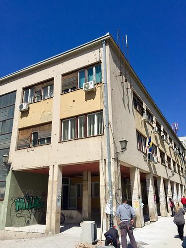Mostar - building damages