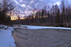 Another Evening Closer (jack4pics) Tags: alaska sundown spring river fork