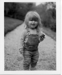 (Matt Chalky Smith) Tags: roidweek polaroid blackandwhite portrait girl daughter lotsofhair