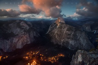 Yosemite Valley at Nightfall