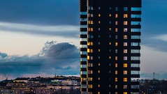 The man in the Black Tower (photomatic.se) Tags: ifttt 500px architecture man sweden stockholm balcony architectural single one person liljeholmskajen wingardhs casper sahlinpriset