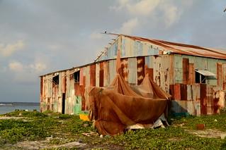 Mahibadhoo / މަހިބަދޫ (Maldives) - Boat Shed