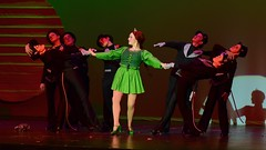 Rat Tap Number with Michaela 1 (R.A. Killmer) Tags: michaela beauty bethelpark shrek fiona dance dancer tap talented red green black stage sassy show musical