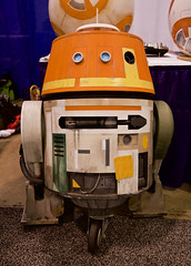 T60C8759 Wonder Con 2017: Sunday (ivankay) Tags: wondercon wondercon2017 ivankay anaheimconventioncenter starwars rebels chopper droid
