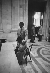 Moss rests during break in McCarthy red scare hearing: 1954 (washington_area_spark) Tags: accused annie lee mccarthy moss senate senator permanent armed communist communists congress hearings investigating joseph forces washington dc red scare communism party committee testimony pentagon worker 1954 african american black female woman accusation