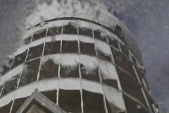 Listening Post Teufelsberg Reflection (socialwebforscher) Tags: abhöranlage berlin canon100mmf28l canoneos5dmarkiv grosstadt sehenswürdigkeit teufelsberg listeningpost
