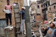 Paper plane - Bhaktapur, Nepal (Maciej Dakowicz) Tags: asia nepal bhaktapur city earthquake constructionsite rebuilding work damagenepalkathmandubhaktapur fujifilm fujifilmxseries xt2 xf23mmf2 fujinon