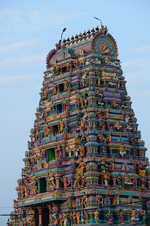 Sculptures -  Hindu temple.  South India .