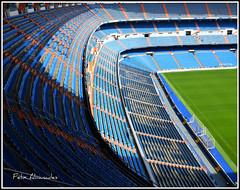 3    Estadio,  Grada (Félix Abánades) Tags: estadio santiago real madrid grada bernabeu