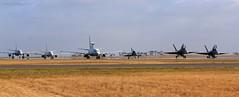 Air Force Parade (Teutonic01) Tags: royalaustralianairforce raaf fa18a a2116 2ocu fa18b a21103 3sqn hawk127 a2714 79sqn e7a wedgetail aewc a30004 2sqn p8a poseidon a47001 11sqn kc30a mrtt a39001 33sqn avalon