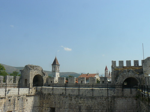 2015-07-19 - P1280355 - View from Trogir Kamerlengo Fortress