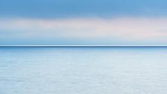morning mood (retniwave) Tags: mallorca capdesessalines sunsetsunrise landscape sea calm blue morning mist water simple horizon sunrise nikkor 200500mm d750 sky nature simplicity newday spain españa mar sencillo azul tranquilidad amanezer naturaleza