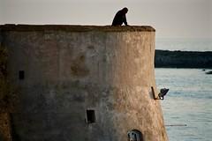 IMG_6503 (andrea.tramacere) Tags: bastione mare uomo tramonto