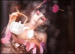 Time for tea 2 (www.s999.co.uk) Tags: time for tea japan anna bulka photography jakubpyrdek studio999 s999 studio999portrait wwws999couk women portrait sanches90s jakub 90s glamour