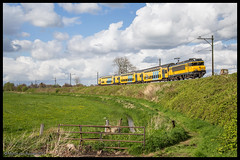 NSR 1733+DDAR 7317 te Soestdijk (MyronvRuijven) Tags: nsr ddar stam ns 1700 stichtse lijn soesterlijn soestdijk eempolder dijk spoordijk