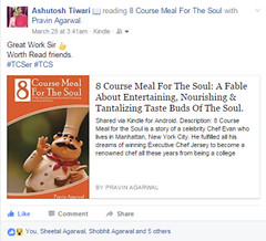 8 Course Meal For The Soul - Recommndation (pravinagarwal) Tags: only one lamp is enough dispel darknesssimilarly if person truly likes your work recommend it wholeheartedly then goal accomplished thank you ashutosh for recommending 8 course meal the soul