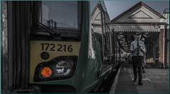 All Set (Terry 47401) Tags: 172216 stratforduponavon class172 1703 stourbridge junction 2w86 guard train staff station railway london midland