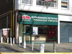 Papa Johns (High Wycombe, UK) (TheTransitCamera) Tags: highwycombe england uk unitedkingdom greatbritian paoajohns pizza