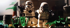 Advance! (Alexandré Nuarin) Tags: lego legography legominifigs legocentral legographer starwars stormtrooper stormtrooper365 starwarsiv starwarsv starwarsvi rogueone rebellion brickscentral bricksinfocus tree brown green skywalker battlefront nature minifigs macro minifigures jedha