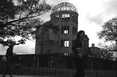 原爆ドーム/Atomic bomb dome (yoshinori.okazaki) Tags: atomic bomb dome 原爆ドーム bw 広島 hiroshima