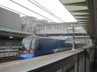 MTR Airport Express A-Train. Sunny Bay, Hong Kong