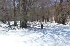 io nella valle del morretano (Roberto Tarantino EXPLORE THE MOUNTAINS!) Tags: monte cornacchia anticima nord puzzillo abruzzo cresta 2000 neve snow inverno primavera aprile campofelice campo felice valle morretano