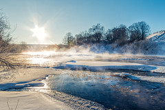 Russian winter (Tkachev.1) Tags: russia winter cold river landscape riverscape stream snow ice sunset nationalgeographic travel