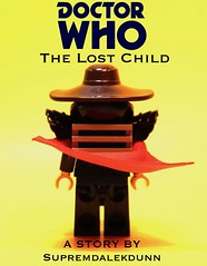 Lego Doctor Who - The Lost Child - Cover (Supremedalekdunn) Tags: lego doctor who the lost child comic series timelord gallifrey sonic screwdriver time relative dimensions space