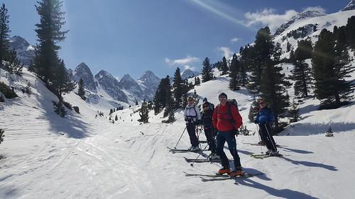Kühtai, Skitouren 26.3.-1.4.2017