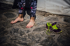 Aftermath (Melissa Maples) Tags: alanya turkey türkiye asia 土耳其 nikon d3300 ニコン 尼康 nikkor afs 18200mm f3556g 18200mmf3556g vr spring alanyaultramarathon race athlete runner woman barefoot feet runningshoe shoe trainer