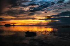 Sonnenuntergang - Sunset Koh Phangan Thailand (Jutta M. Jenning) Tags: sonnenuntergang himmel orange sundown thailand asien kohphangan wasser meer lichtschauspiel abend abendlicht daemmerung sunset landschaft natur nature relax ruhe stille hinkongbeach spiegelung landscape