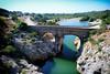 Pont du Diable à Saint-Guilhem-le-Désert (Dan Haug) Tags: saintguilhemledésert pontdudiable devilsbridge héraultriver unesco france july 2008 canon xti sigma1020 languedocroussillon bridge heritage