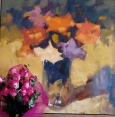 muchas rosas (doloreslopez2) Tags: rosas amarillas azules cuadro ramorosas