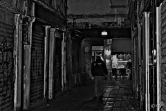"""Walking In The Suburbs At Night"" (giannipaoloziliani) Tags: night suburbs walking flickr hard hardstreets strong strange blackandwhite periphery notte noir city downtown architecture italy venezia venice monochrome people black darkness dark hdr mistery streetphotography capture street streetphoto nikond3200 nikonphotography nikonofficials nikon nikonblackandwhite"