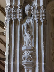 St Dunstan (Aidan McRae Thomson) Tags: worcester cathedral worcestershire medieval carving statue sculpture